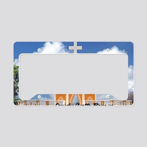 Lourdes Grotto Bonaire12x18 License Plate Holder